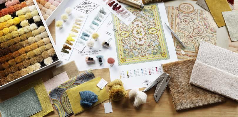 the Art of carpet making