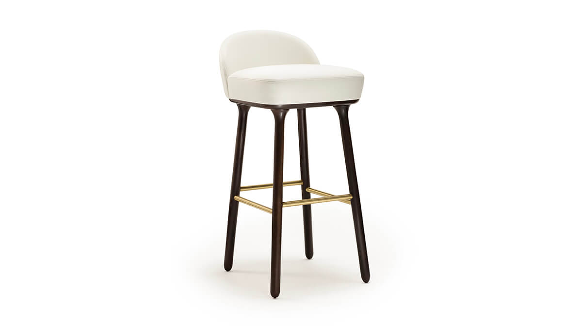 Beetley Bar stool by Jaime Hayon for Sé Collections - The Beetley is available in seven styles - sofa, armchair, dining chair, bridge chair, small bridge chair, bench and bar stool - AFFLUENCY, Unique by Design - Asia's premier destination to discover and shop online for Luxury furniture and unique home decor.